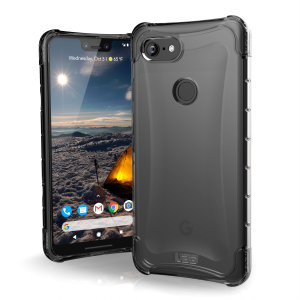 De Urban Armour Gear Plyo-hoes voor de Google Pixel 3 XL is voorzien van verstevigde Air-Soft-hoeken en een geoptimaliseerde honingraatstructuur voor superieure val- en schokbescherming.