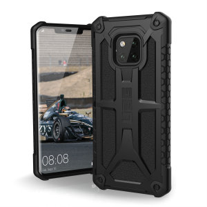 The Urban Armour Gear Monarch in black for the Huawei Mate 20 Pro is quite possibly the king of protective cases. With 5 layers of premium protection and the finest materials, your Mate 20 Pro is safe, secure and in some style too.
