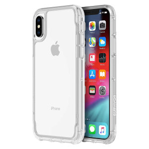 View the beauty of your phone from within a protective see-through case with the Griffin Survivor Clear for the iPhone XS Max. Designed and tested to military standards, the Survivor Clear features up to 1.8 metres of drop protection.