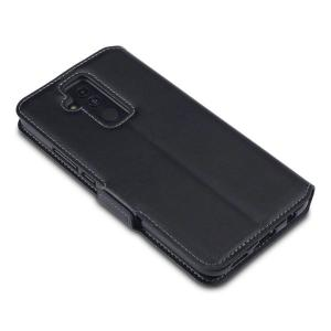 All the benefits of a wallet case but far more streamlined. The Olixar Low Profile in black is the perfect partner for the the Huawei Mate 20 Lite owner on the move. What's more, this case transforms into a handy stand to view media.
