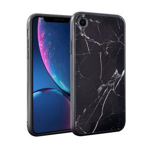Enhance and protect your iPhone XR with this glamorous black case from Olixar. Your iPhone fits perfectly into the secure, durable frame, while a classical marble-effect design adds a touch of historic prestige to your already-gorgeous device.