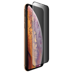 This tempered glass screen protector for the iPhone XS Max from Olixar has complete edge to edge screen protection, toughness, high visibility and sensitivity all in one package, with the added bonus of a privacy filter.