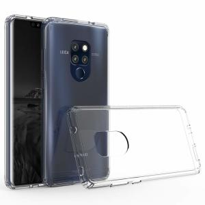 Custom moulded for the Huawei Mate 20, this crystal clear Olixar ExoShield tough case provides a slim fitting, stylish design and reinforced corner protection against shock damage, keeping your device looking great at all times.