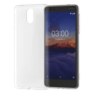 Protégez votre Nokia 3.1 des chocs et des rayures à l'aide de la coque officielle Nokia Slim Crystal en silicone transparent. Une fois équipée, votre smartphone reste mince et léger et la coque ne lui ajoute qu'un volume minimal.