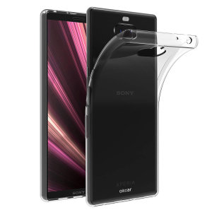 Custom moulded for the Sony Xperia 10, this clear Olixar FlexiShield case provides slim fitting and durable protection against damage.