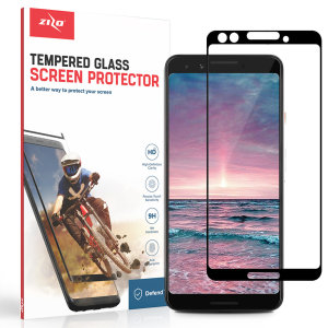 Protect all of your Google Pixel 3's beautiful display with an edge to edge tempered glass screen protectors from Zizo. With superb clarity and a durable construction this is the perfect way to keep your screen looking good.