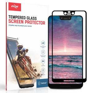 Protect all of your Google Pixel 3 XL's beautiful display with an edge to edge tempered glass screen protectors from Zizo. With superb clarity and a durable construction this is the perfect way to keep your screen looking good.