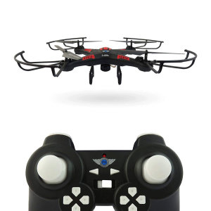 Battling your friends or performing stunts using a remotely controlled quadcopter has never been so much fun! The X-Cam Quadcopter With HD Camera comes with 2.4Ghz Radio Control and HD Camera to make playing much more easier, enjoyable and engaging.