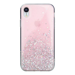 Stand out from the crowd with the Starfield iPhone XR Case from SwitchEasy in pink. With it's unique glitter pattern and slim design, your iPhone will truly sparkle and shine.