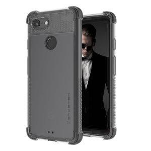 Deze Ghostek-case is speciaal gemaakt voor de Google Pixel 3 en biedt een slank passend, stijlvol ontwerp en versterkte hoekbescherming tegen schokken, zodat je toestel er altijd goed uitziet.