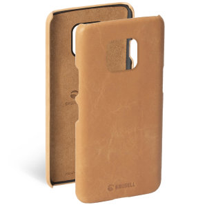 Krusell's Sunne cover in nude combines Nordic chic with Krusell's values of sustainable manufacturing for the socially-aware Huawei Mate 20 Pro owner who wants an elegant genuine leather accessory.