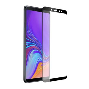 Keep your Samsung Galaxy A9's screen in pristine condition with this Olixar Tempered Glass screen protector, designed to cover and protect even the curved edges of the phone's unique display. Black edges match the black phone perfectly.