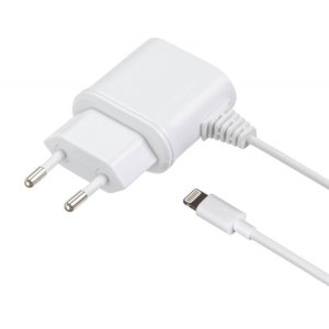 Charge your Apple Lightning device within the EU with this certified Made For iPhone MFi European mains charger
