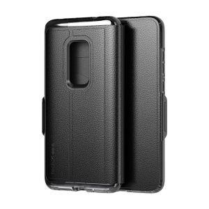 The Evo Wallet case by Tech21 carefully surrounds your Huawei Mate 20 with a slim-fitting see-through back case and a tactile folio cover. The Evo Wallet case comes with 2 concealed slots for your debit, credit or personal ID cards.