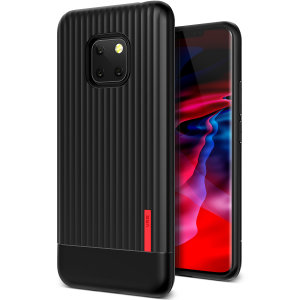 Protect your Huawei Mate Pro 20 with this precisely designed and durable case from VRS Design. Made with sturdy, yet flexible premium material, this black polycarbonate hardshell features a slim design with precise cut-outs for your phone's ports.