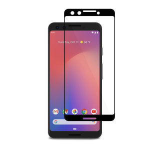Designed for the Google Pixel 3, the black IonGlass Glass Screen Protector from Moshi has been designed to protect your display while ensuring the iPhone screen maintains the highest possible level of fingertip sensitivity and clarity.
