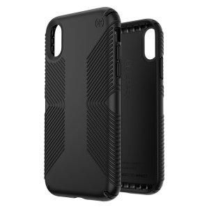 Die Presidio Grip Hülle für das iPhone XR bietet maximalen Schutz im schicken Design. Diese Grip Hülle ist aus zwei verschiedenen Schutzschichten hergestellt.
