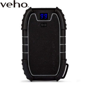 The Veho Endurance Portable Charger is one of the longest lasting external batteries available thanks to its impressive 15,000mAh capacity. With a water resistant rugged design and a built-in LED torch, this is the ultimate outdoor power bank.