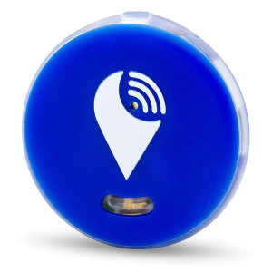 Keep your phone, wallet, bag and key safe by your side in the secure knowledge you will hear an audible alarm if you stray too far away from your device or someone removes your valuables with the TrackR Pixel Bluetooth in blue.