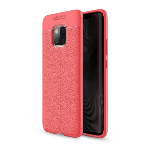 For a touch of premium, minimalist class, look no further than the Attache case in red from Olixar. Lending flexible, durable protection to your Huawei Mate 20 with a smooth, textured leather-style finish, this case is the last word is style.