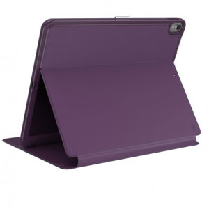 The Speck Presidio is the evolution of the popular CandyShell case. A rugged Purple case made from two protective layers for the iPad Pro 12.9. Features enhanced drop protection, 100% clear finish and reduced bulk.
