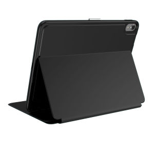 The Speck Presidio is the evolution of the popular CandyShell case. A rugged black case made from two protective layers for the iPad Pro 11. Features enhanced drop protection, 100% clear finish and reduced bulk.
