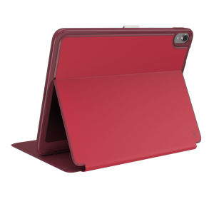 The Speck Presidio is the evolution of the popular CandyShell case. A rugged red case made from two protective layers for the iPad Pro 11. Features enhanced drop protection, 100% clear finish and reduced bulk.