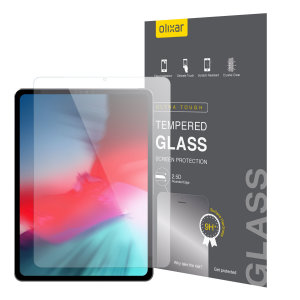"This ultra-thin tempered glass screen protector for the iPad Pro 11"" 2018 offers toughness, high visibility and sensitivity all in one package."
