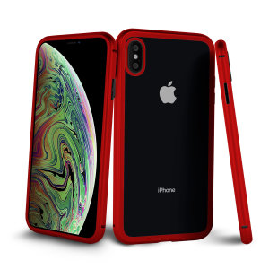 The Olixar Colton blends the latest technologies with premium design to create a truly protective iPhone XS case. The 2 piece magnetic case when teamed with the included full cover screen protector, provides 360° protection for your iPhone XS - in red.