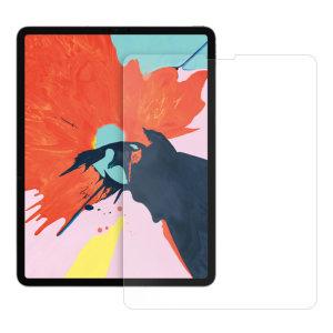 Das 2,5D Glass von Eiger ist aus hochwertigem Echtglas mit abgerundeter Kante und Splitterschutzfolie gefertigt und bietet den ultimativen Bildschirmschutz für den iPad Pro.