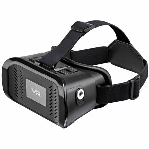 Discover new worlds through your smartphone with the Goji VR Box Virtual Reality Headset. This sturdy, immersive headset comes with an adjustable head strap and adjustable optics to make sure your VR experience is as comfortable as it can be.