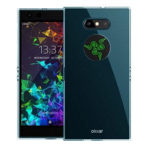 Olixar FlexiShield Razer Phone 2 Gel Case - Blue