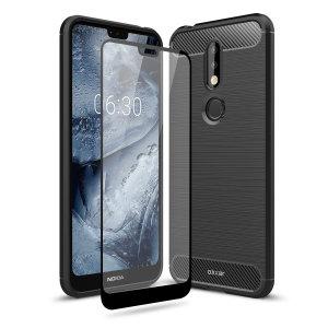 Si está buscando una excelente protección para el Nokia 7.1 la Olixar Sentinel protegerá su smartphone al completo. Además de incluir una robusta y elegante funda protectora, también incluye en el mismo paquete un protector de pantalla para que pueda proteger al 100% su dispositivo móvil.