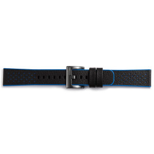 Personnalisez votre Samsung Gear Sport avec le bracelet officiel Samsung Sport Hybrid en coloris bleu! Élégant, doté d'une conception de haute qualité et agréable à porter, il est le moyen idéal de porter votre montre et de personnaliser celle-ci au quotidien, surtout si vous êtes un sportif amateur ou professionnel.