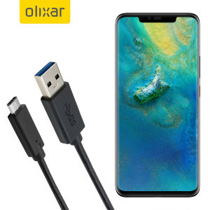 Make sure your Huawei Mate 20 Pro is always fully charged and synced with this compatible USB 3.1 Type-C Male To USB 3.0 Male Cable. You can use this cable with a USB wall charger or through your desktop or laptop.