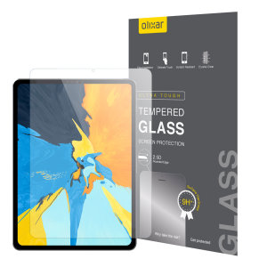 This ultra-thin tempered glass screen protector for the iPad Pro 12.9 2018 offers toughness, high visibility and sensitivity all in one package.