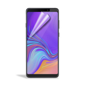 Keep your Samsung Galaxy A9 2018 screen in pristine condition with this Olixar scratch-resistant screen protector 2-in-1 pack.