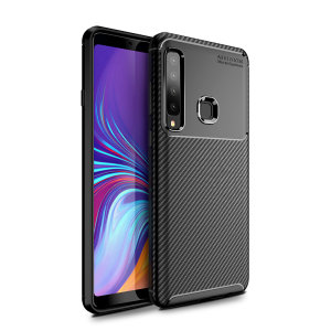 Olixar Carbon Fibre case is a perfect choice for those who need both the looks and protection! A flexible TPU material is paired with an eye-catching carbon print to make sure your Samsung Galaxy A9 2018 is well-protected and looks good in any setting.