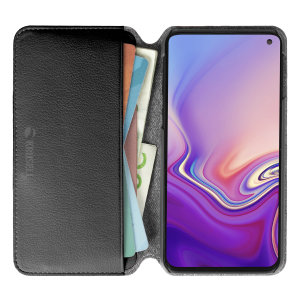 Krusell's Pixbo 4 Card Slim Wallet vegan leather case in pink combines Nordic chic with Krusell's values of sustainable manufacturing for the socially-aware Samsung Galaxy S10E owner who seeks 360° protection with extra storage for cash and cards.