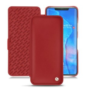 Keep your Huawei Mate 20 Pro well protected from damage with this high quality, beautifully hand-crafted genuine red leather flip case from Noreve. The perfect blend of premium style and functionality.
