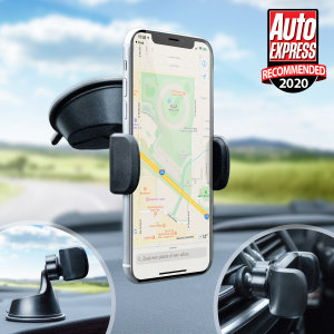 Olixar TriMount Windscreen, Dashboard & Vent Smartphone Car Holder