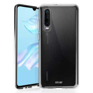 Olixar Ultra-Thin Huawei P30 Case - 100% Clear