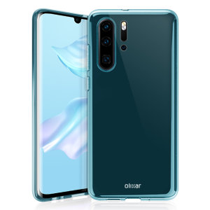 Custom moulded for the Huawei P30 Pro, this blue Olixar FlexiShield case provides slim fitting and durable protection against damage.