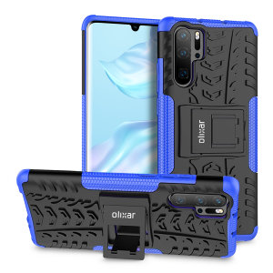 Protect your Huawei P30 Pro from bumps and scrapes with this blue ArmourDillo case. Comprised of an inner TPU case and an outer impact-resistant exoskeleton, the ArmourDillo provides robust protection and supreme styling.