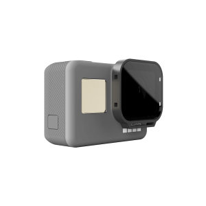 The PolarPro GoPro Hero6 / Hero5 Black Polarizer filter is a great tool to help you improve the image and video quality. Easy to install and simple to use filter will reduce glare and improve color saturation