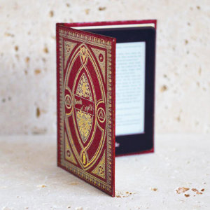 Disguise your Kindle Paperwhite in style with the Gryffindor style book case in Red from KleverCase. Crafted from premium materials, this fantastic book case looks and feels great in hand just like a vintage classic book.