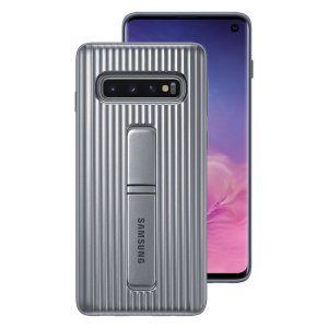 This Official Samsung Protective cover in Silver is the perfect accessory for your Galaxy S10 smartphone.