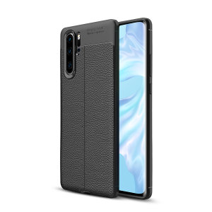 Olixar Attache Huawei P30 Pro Leather-Style Case - Black