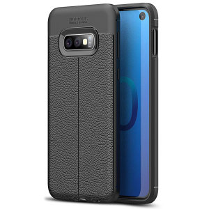 For a touch of premium, minimalist class, look no further than the Attache case for the Samsung Galaxy S10e from Olixar. Lending flexible, durable protection to your device with a smooth, textured leather-style finish.