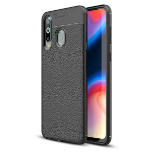 For a touch of premium, minimalist class, look no further than the Attache case for the Samsung Galaxy A8S from Olixar. Lending flexible, durable protection to your device with a smooth, textured leather-style finish, this case is the last word is style.